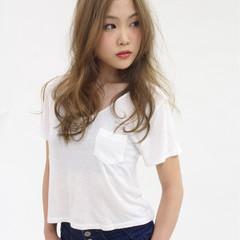 外国人風 大人かわいい かっこいい ゆるふわ ヘアスタイルや髪型の写真・画像