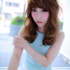 コンサバ ハイライト 前髪あり アッシュ ヘアスタイルや髪型の写真・画像