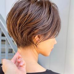 ショートカット ショートヘア ハンサムショート ショートボブ ヘアスタイルや髪型の写真・画像