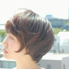 ショート ピュア ゆるふわ 大人かわいい ヘアスタイルや髪型の写真・画像