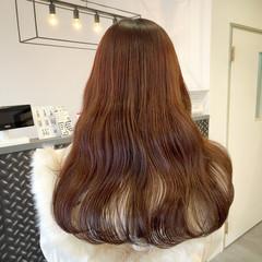 ピンク アンニュイ ベージュ 艶髪 ヘアスタイルや髪型の写真・画像