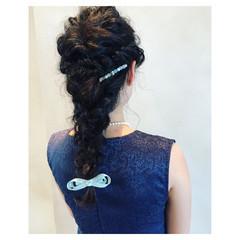 ナチュラル ヘアアレンジ ロング パーティ ヘアスタイルや髪型の写真・画像