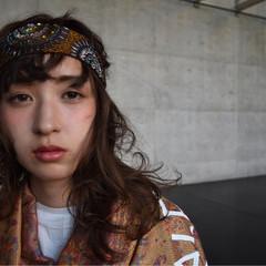 セミロング ピュア ハーフアップ ショート ヘアスタイルや髪型の写真・画像