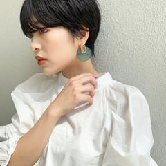 パーマ ショートヘア マッシュショート ショート ヘアスタイルや髪型の写真・画像