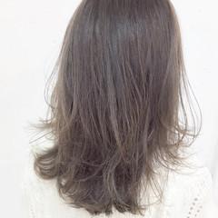 外国人風 暗髪 グラデーションカラー ハイライト ヘアスタイルや髪型の写真・画像