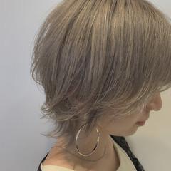 ウルフカット ウルフ女子 フェミニンウルフ ショート ヘアスタイルや髪型の写真・画像