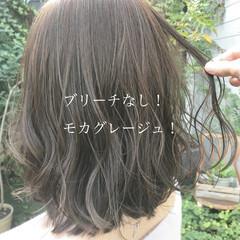 ブリーチなし ベージュ フェミニン ミルクティーベージュ ヘアスタイルや髪型の写真・画像