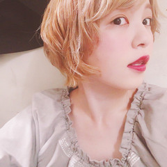 ウェーブ 簡単ヘアアレンジ アンニュイ リラックス ヘアスタイルや髪型の写真・画像