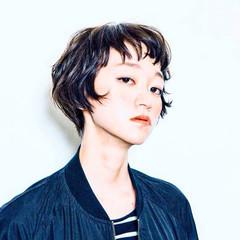 ショート 大人かわいい グラデーションカラー ロック ヘアスタイルや髪型の写真・画像