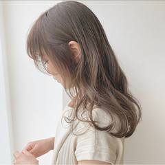 ナチュラル 大人ヘアスタイル ベージュカラー 巻き髪 ヘアスタイルや髪型の写真・画像