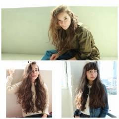 外国人風 パンク ストリート 春 ヘアスタイルや髪型の写真・画像