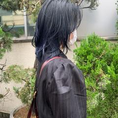 ミディアム ウルフカット ミニボブ ショートボブ ヘアスタイルや髪型の写真・画像