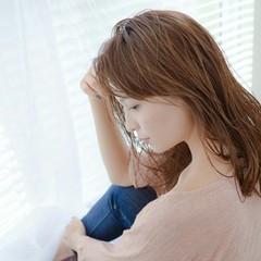 透明感 アッシュ 前髪あり ロング ヘアスタイルや髪型の写真・画像