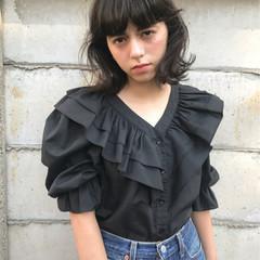 こなれ感 暗髪 外国人風カラー グレージュ ヘアスタイルや髪型の写真・画像