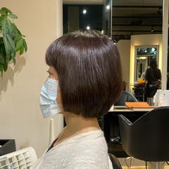 お手入れ簡単!! 美シルエット ボブ 絶壁カバー ヘアスタイルや髪型の写真・画像
