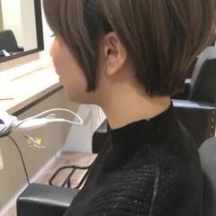 髪質改善トリートメント 髪質改善 ショート ナチュラル ヘアスタイルや髪型の写真・画像