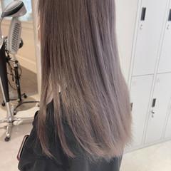 ハイトーン ハイトーンカラー インナーカラー 大人ハイライト ヘアスタイルや髪型の写真・画像