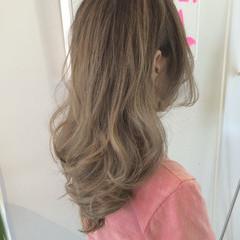 ハイライト アッシュ ガーリー 外国人風 ヘアスタイルや髪型の写真・画像
