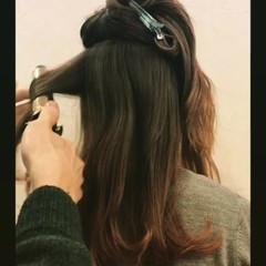 ミディアム パーマ ロング 外国人風 ヘアスタイルや髪型の写真・画像