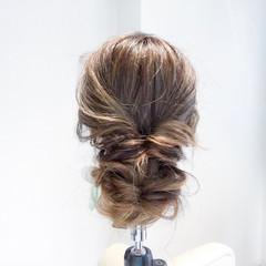 ルーズ 女子会 結婚式 ヘアアレンジ ヘアスタイルや髪型の写真・画像