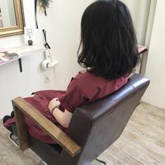 リラックス ゆるふわ ナチュラル 秋 ヘアスタイルや髪型の写真・画像
