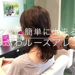 女子会 アウトドア フェミニン 簡単ヘアアレンジ ヘアスタイルや髪型の写真・画像
