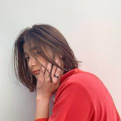 簡単ヘアアレンジ 春 デート オフィス ヘアスタイルや髪型の写真・画像
