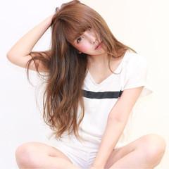 ハイライト 大人かわいい アッシュ グラデーションカラー ヘアスタイルや髪型の写真・画像