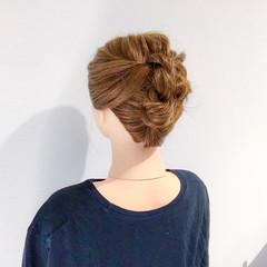 オフィス 結婚式 アウトドア ロング ヘアスタイルや髪型の写真・画像