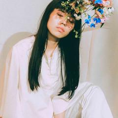 アンニュイ アンニュイほつれヘア ナチュラル可愛い 黒髪 ヘアスタイルや髪型の写真・画像