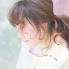 かわいい ガーリー 春 ストリート ヘアスタイルや髪型の写真・画像