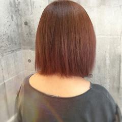 イルミナカラー 透明感 秋 ボブ ヘアスタイルや髪型の写真・画像