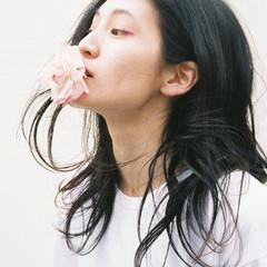 黒髪 外国人風 ヘアアレンジ ロング ヘアスタイルや髪型の写真・画像
