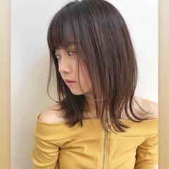 前髪あり 愛され ヘアアレンジ フェミニン ヘアスタイルや髪型の写真・画像