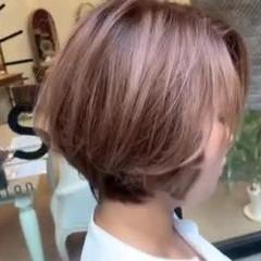 バレイヤージュ ナチュラル ブリーチカラー アンニュイほつれヘア ヘアスタイルや髪型の写真・画像