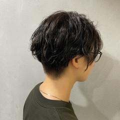 ショート ナチュラル 大人ハイライト ブルージュ ヘアスタイルや髪型の写真・画像