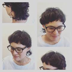 マッシュ ストリート 前髪あり ショート ヘアスタイルや髪型の写真・画像