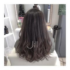 グラデーションカラー ダブルカラー 外国人風 暗髪 ヘアスタイルや髪型の写真・画像