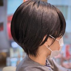 小顔ショート ショート ベリーショート ハンサムショート ヘアスタイルや髪型の写真・画像