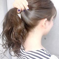 大人ロング フェミニン ロング 透明感カラー ヘアスタイルや髪型の写真・画像
