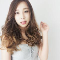ハイライト 外国人風 グラデーションカラー ローライト ヘアスタイルや髪型の写真・画像