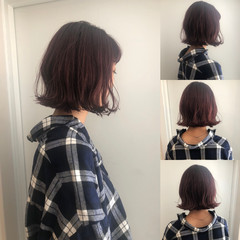 渋谷系 大人かわいい オルチャン ボブ ヘアスタイルや髪型の写真・画像