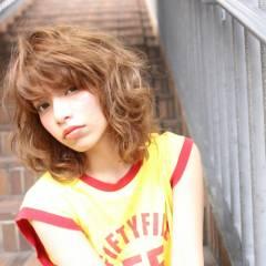 外国人風 ストリート ボブ ラフ ヘアスタイルや髪型の写真・画像