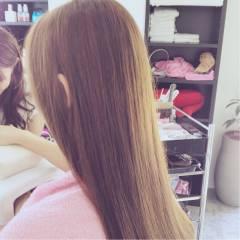ミルクティー ベージュ ナチュラル かわいい ヘアスタイルや髪型の写真・画像