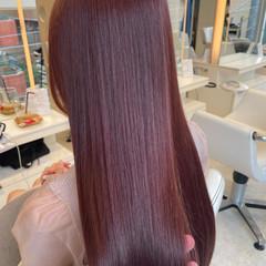 デート 髪質改善 縮毛矯正 ナチュラル ヘアスタイルや髪型の写真・画像