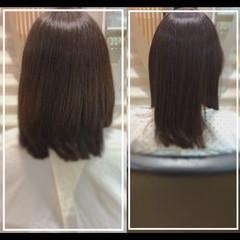 髪質改善 髪質改善トリートメント 髪質改善カラー 艶髪 ヘアスタイルや髪型の写真・画像