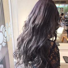 デート ガーリー グラデーションカラー 透明感 ヘアスタイルや髪型の写真・画像