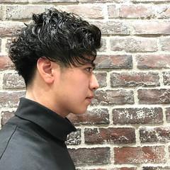 ストリート モード ショート 黒髪 ヘアスタイルや髪型の写真・画像