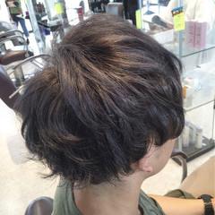 ショート ガーリー メンズ ヘアスタイルや髪型の写真・画像