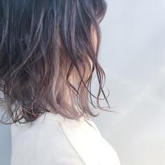 グラデーションカラー アッシュベージュ アッシュグレージュ ボブ ヘアスタイルや髪型の写真・画像